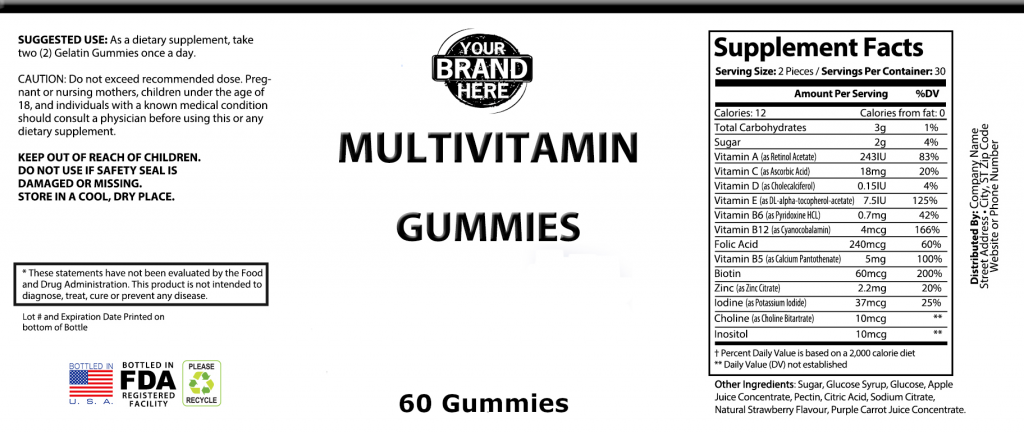 Private-Label-Multivitamin-Gummies