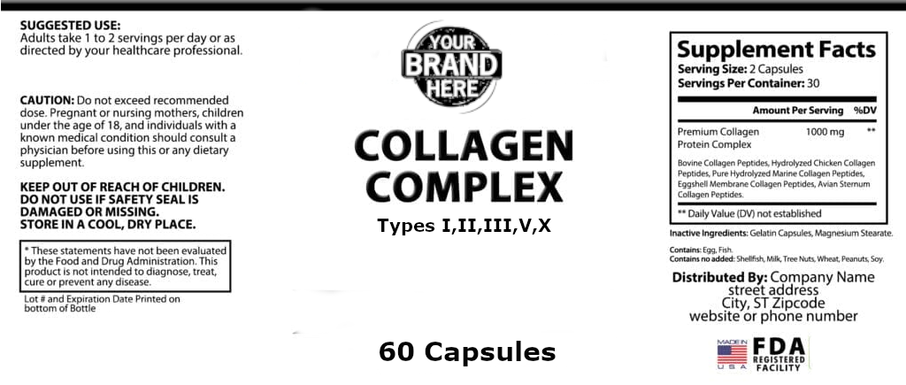 rivate-Label-Collagen-Complex